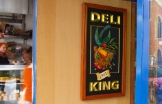 Deli on King Cafe Sign