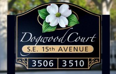 Dogwood Court Entrance Sign Thumb