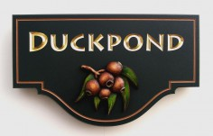 Duckpond  House Sign | Danthonia Designs