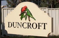 Duncroft House Sign