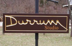 Durrum Studio Small Business Sign