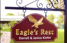 Eagle's Rest Property Sign