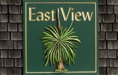 East View House Sign