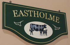 Eastholme Farm Sign
