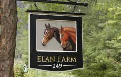 Elan Farm Sign