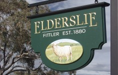Elderslie Farm Sign