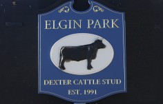 Elgin Park Farm Sign