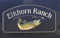 Elkhorn Ranch Sign