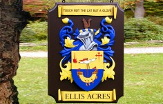 Ellis Acres Family Crest