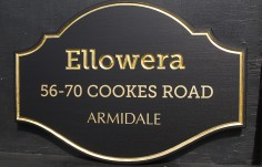 Ellowera House Sign
