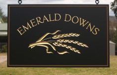 Emerald Downs Farm Sign