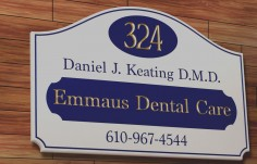 Emmaus Dental Care Sign