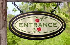 Entrance Wayfinding Sign