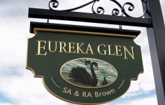 Eureka Glen Hanging Sign