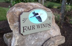 Fair Winds Property Sign