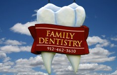 Family Dentistry Dental Office Sign