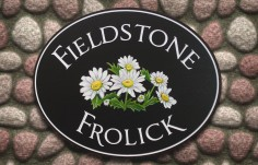 Fieldstone Frolick House Sign | Danthonia Designs