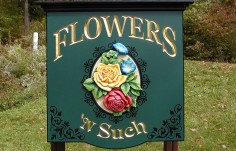 Flowers 'n Such Retail Sign Thumbnail