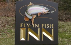 Fly In Fish Inn Sign