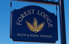 Forest Lodge Rural Business Sign