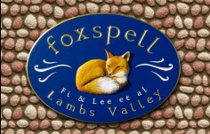 Foxspell House Name Sign