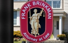 Frank Brinkman Law Office Sign