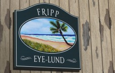 Fripp Beach House Sign