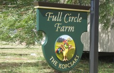 Full Circle Farm Sign