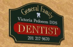 General Family Dentist Sign
