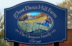 Ghost Dance Hill Farm Sign