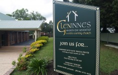 Glen Innes Church Sign