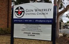 Glen Waverley Church Sign