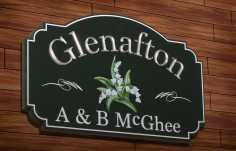 Glenafton House Sign