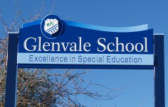 Glenvale School Welcome Sign