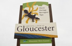 Gloucester Entrance Sign