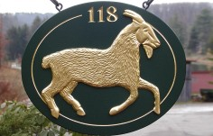 Goat Farm Sign