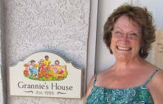 Grannies House Sign