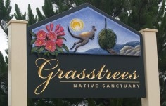 Grasstrees Sanctuary Sign