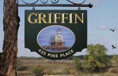 Griffin House Property Sign