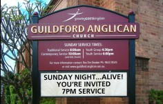 Guildford Anglican Church Message Board