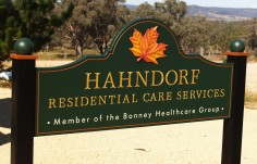 Hahndorf Residential Care Sign