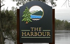 The Harbour Property Sign