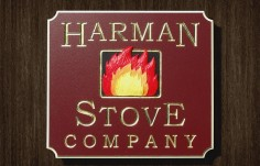 Harman Stove Company Sign | Danthonia Designs