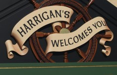 Harrigan's Pub Sign