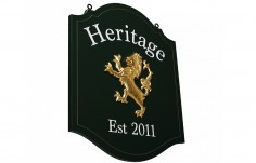 Heritage House Sign