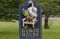 Hosta House Name Sign