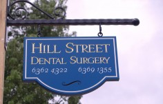 Hill Street Dental Sign