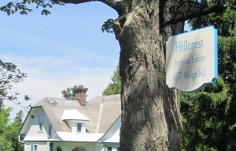 Hillcrest Estate Property Sign