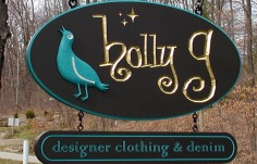 Holly G Retail Sign