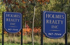 Holmes Real Estate Signs